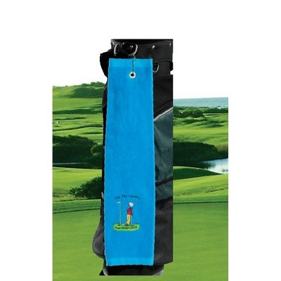 Picture of Premium Velour Trifold Golf Towel