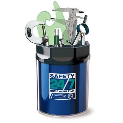 Picture of Utility Caddy Jar Metallic Foil