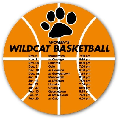 Picture of Basketball Sports Schedule Magnet