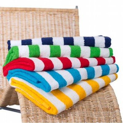 Picture of Hawaiian Stripe  Beach Towel