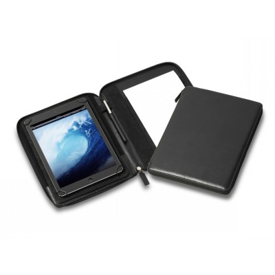 Picture of Deluxe Uni-fit Tablet Zip A5 Compendium with Adjustable Display Stand