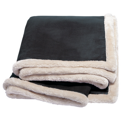 Picture of Kanata Faux Leather Throw