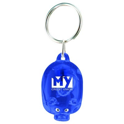 Picture of Light Up Piggy Keytag