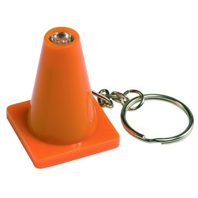 Picture of Light Up Safety Cone Keytag