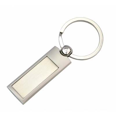 Picture of SILVER PANEL KEY RING
