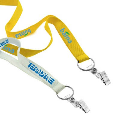 Picture of 19mm Screen Printed Lanyard