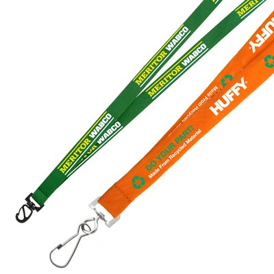 Picture of 19mm Euro Soft Lanyard Recycled Lanyard