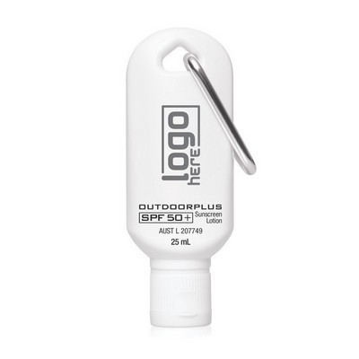 Picture of Australian Made Sunscreen SPF 50+ on Carabiner 25mL