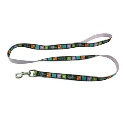 Picture of Detailed Woven Heavy Duty Leash sewn onto Polyester 25mm(w) x 1500mm (L)