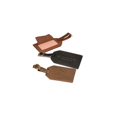 Picture of Grand Central Luggage Tag (sueded full-grain leather)