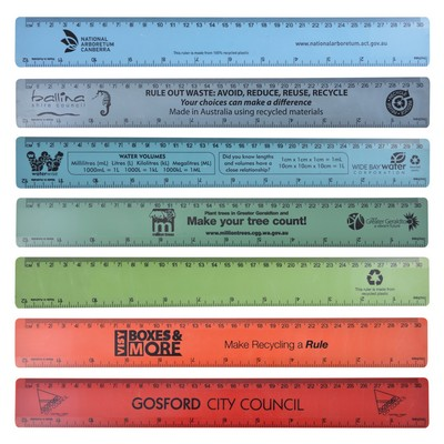 Picture of Echo Rule Recycled Plastic Ruler 30cm