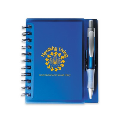 Picture of Merchant Spiral Notebook with Pen