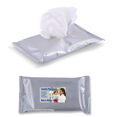 Picture of Anti Bacterial Wet Wipes in Pouch