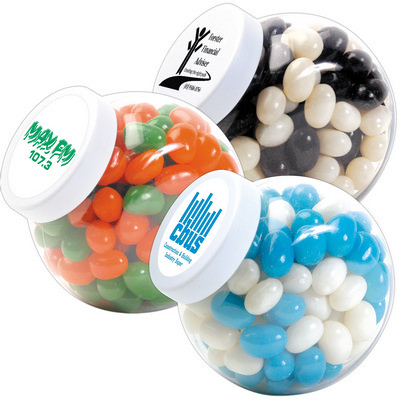 Picture of Corporate Colour Mini Jelly Beans in Container