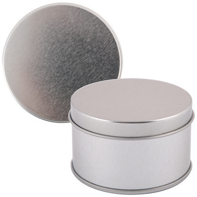 Picture of Silver Round Tin