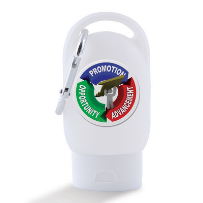 Picture of 30ml Liquid Hand Sanitiser with Carabiner