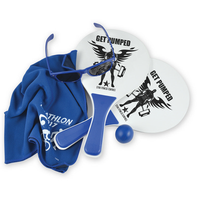 Picture of Summer Beach Kit 1 - Bat & Ball Set, Chill Cooling Towel, Horizon Sunglasses