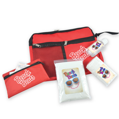 Picture of Survival Kit - Malibu Pouch, First Aid Kit, Hand Sanitiser, Tissues and Poncho