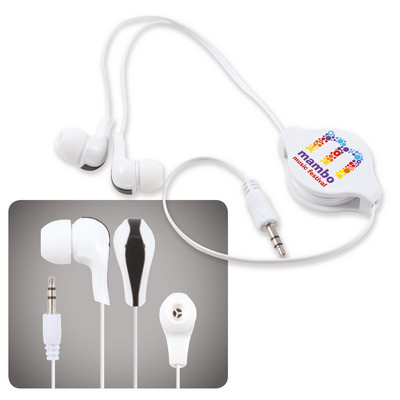 Picture of Zen Retractable Earbuds / Headphones