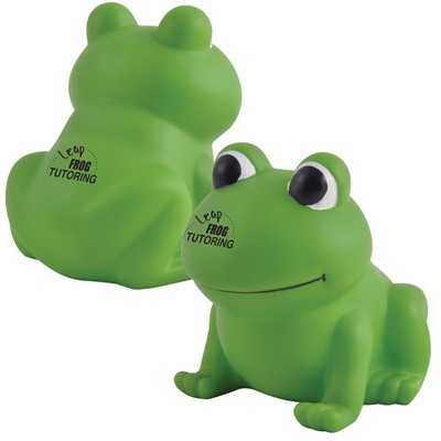 Picture of Ribbit PVC Bath Frog