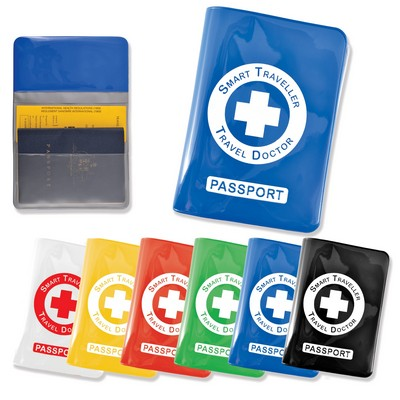 Picture of Shiny PVC Passport Wallet