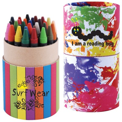Picture of Custom Design Assorted Colour Crayons in