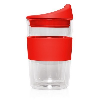 Picture of Double-walled Glass Cup 2 Go - 300mL