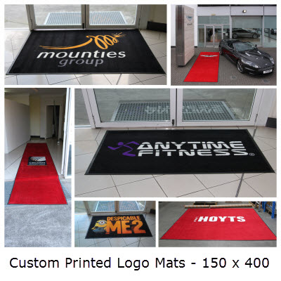 Picture of Custom Printed Logo Mats - 150 x 400
