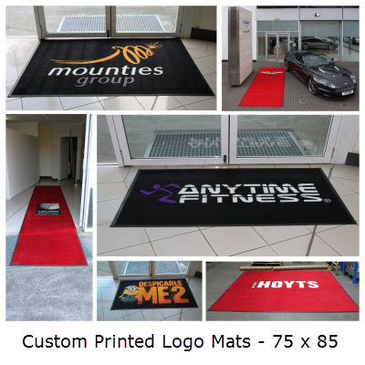 Picture of Custom Printed Logo Mats - 75 x 85