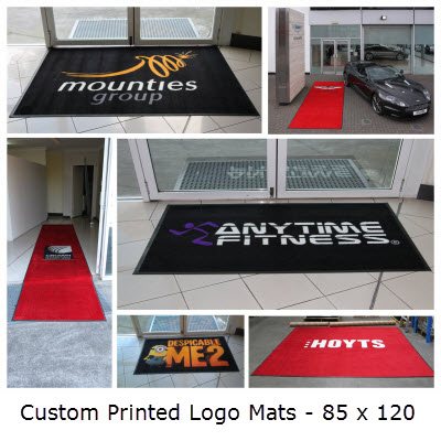 Picture of Custom Printed Logo Mats - 85 x 120