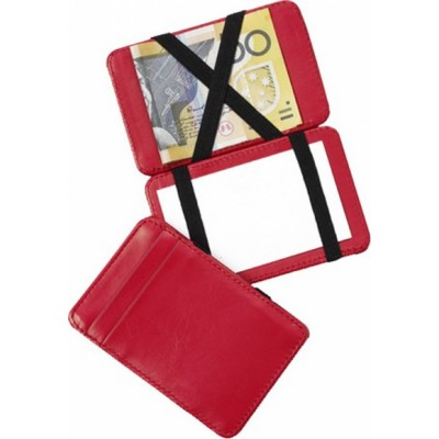 Picture of Premium Red Leather Magic Wallet