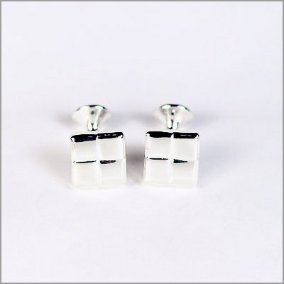 Picture of Rhodium Plated Cufflinks