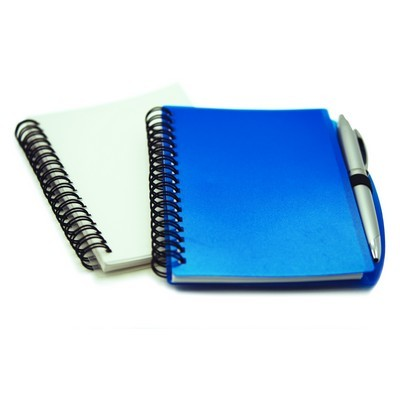 Picture of Plastic Cover Notebook With Pen