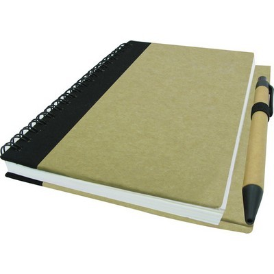 Picture of B6 Eco Notebook With Pen