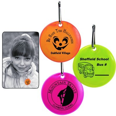 Picture of Round Reflective Zipper Pulls