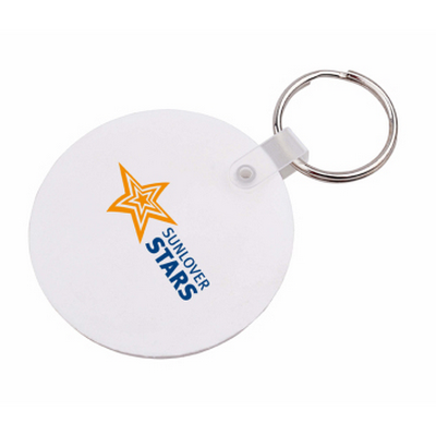 Picture of Round Durasoft Keyring