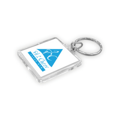 Picture of Square Acrylic Keyring