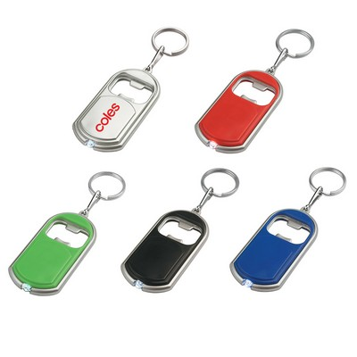 Picture of Key Ring With LED Light and Bottle Opener