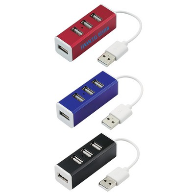 Picture of 4-Port Aluminum USB Hub