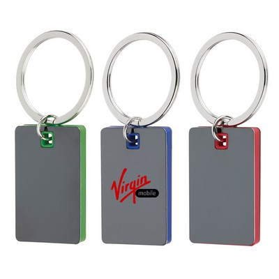 Picture of Color Block Mirrored Key Ring