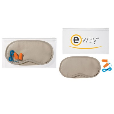 Picture of Ear Plugs And Eye Mask Set