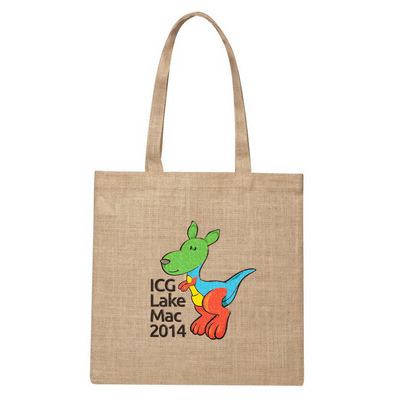 Picture of Raw Jute Simple Shoulder Bag
