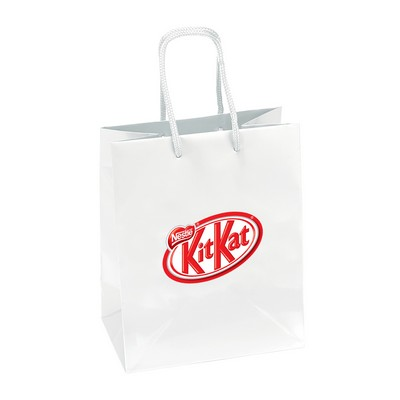 Picture of Gloss Laminated Bag A4 With Rope Handle