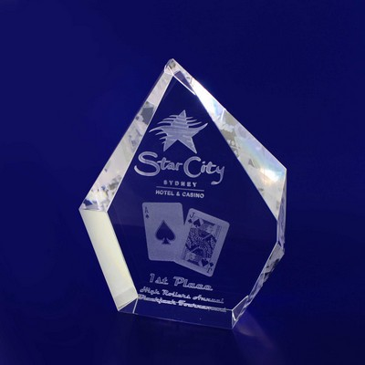 Picture of 3D Crystal Prestige award / trophy