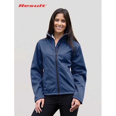 Picture of Result Ladies Soft Shell Jacket