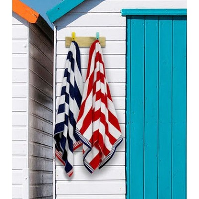Picture of Riviera Striped Beach Towel