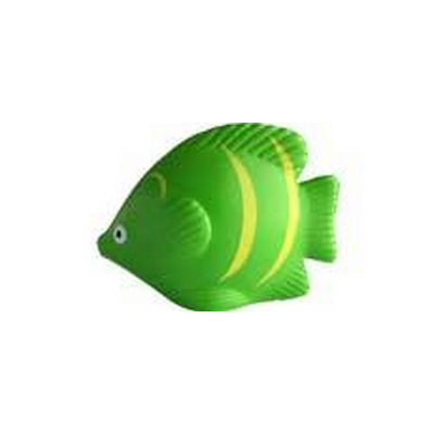 Picture of Hot Tropical Fish Green