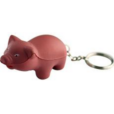 Picture of Stress Pig Keyring