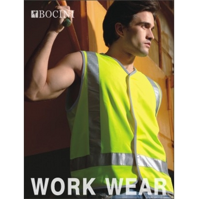 Picture of Unisex Adults Hi-Vis Vest With Reflective Tape