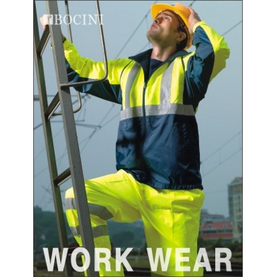 Picture of Unisex Adults Hi-Vis 3 In 1 Jacket With Reflective Tape